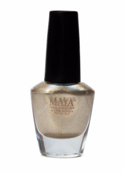 Maya Breathable Nail Polish - Gold Digger