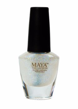 Maya Breathable Nail Polish - Top Coat Glitter