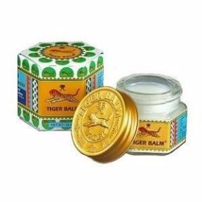 Tiger Balm - Muscle Soothing Balm - White 10g