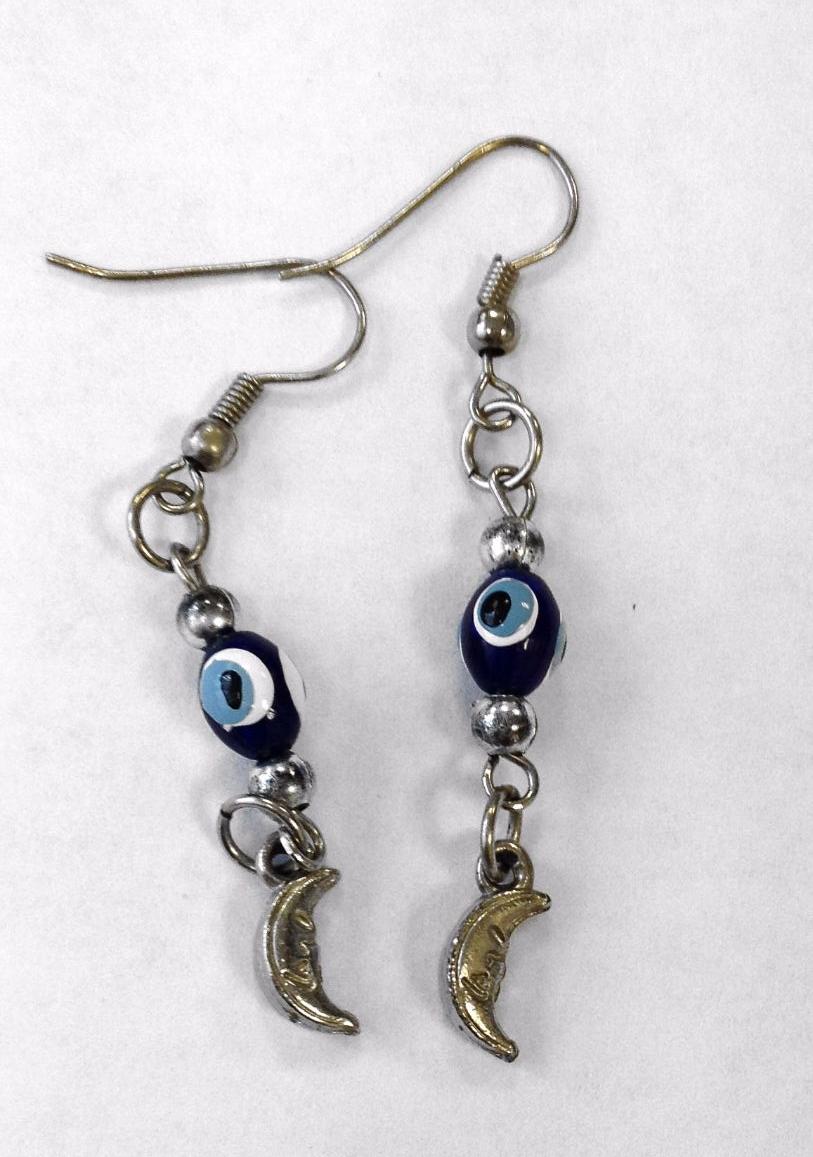 Evil Eye Blue earrings