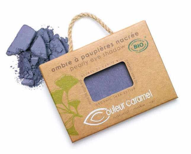 Eye shadow -  Pearly violet Blue (046)