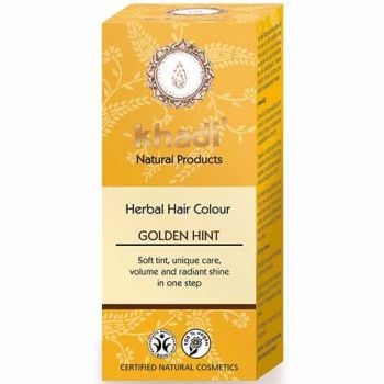 Herbal Hair Colour GOLDEN HINT Blond