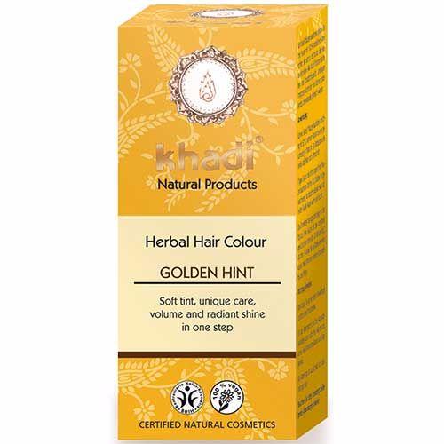 Herbal Hair Colour GOLDEN HINT( Blond) - 100g - Khadi