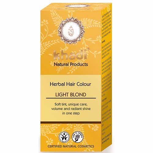 Herbal Hair Colour LIGHT BLOND - 100g - Khadi