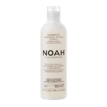 Shampoo Purifying with Green Tea & Basil for Dandruff Control