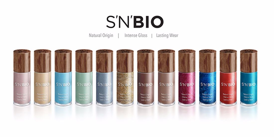 safe and beautiful plant  based nail polish