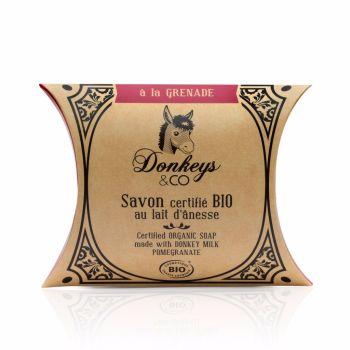 Donkey's Milk Soap - Pomegranate