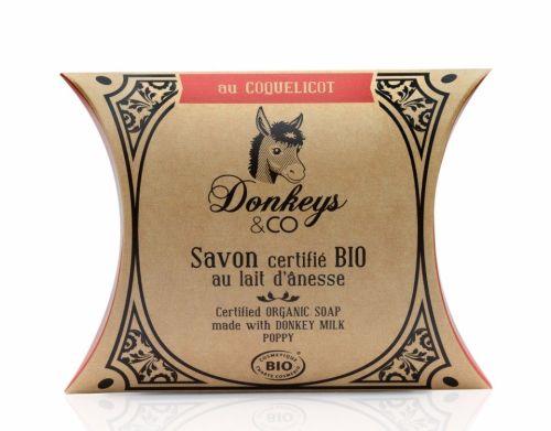 Donkey's Milk Soap - Poppy