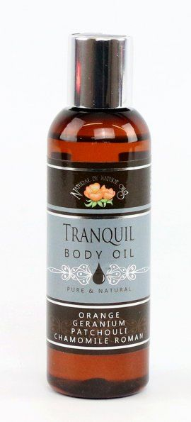 Body Oil Tranquil with Orange & Patchouli 100ml