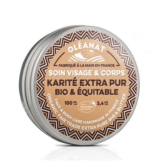Shea butter balm - fragrance free - Fair Trade 100ml