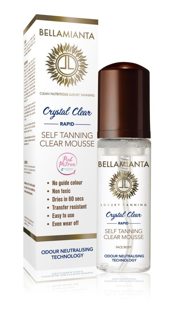 Crystal Clear Tanning Mousse - Bellamianta