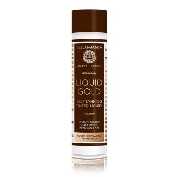 Liquid Gold Tinted liquid - Bellamianta