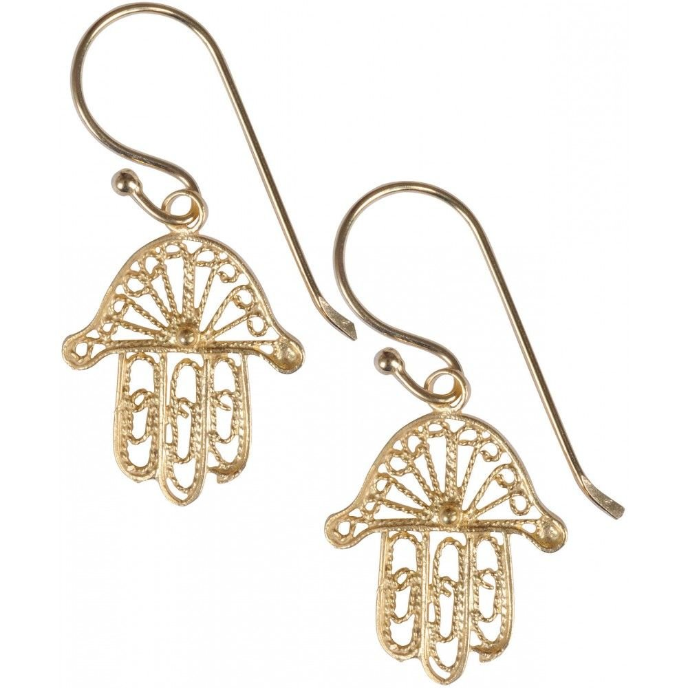 Hand of Fatmah earrings