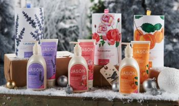 Jason Gift Set - Hand Soap & Body Lotion - Apricot