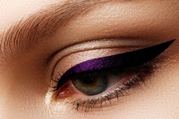 Henna Eyes Semi Permanent  Eye & Brow Liner PURPLE PLUM