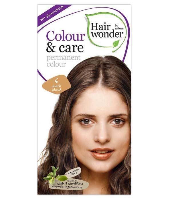Hair Colour & care permanent colour  - Dark Blond
