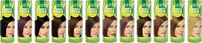 hennaplus colour cream packages