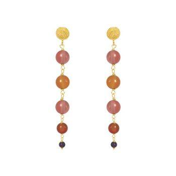 Talia Stud Bead Earrings