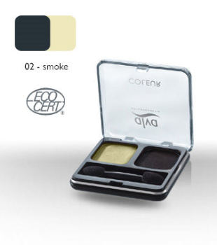 Duo Eye Shadow - Alva Coleur - Smoke