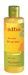 Alba Botanica Kona Coffee After Sun Lotion