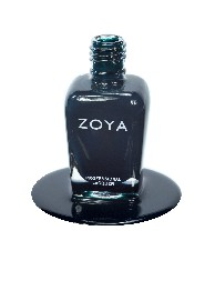 Zoya Nail Polish  - Smoky Prissian Blue  - chemical & odour free