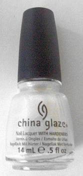 China Glaze Nail Polish - White Cap