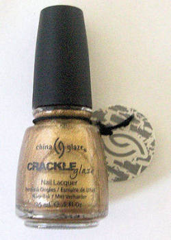 China Glaze Nail Polish - Tarnished Gold