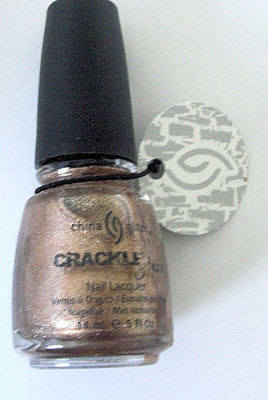 China Glaze Crackle  Nail Polish - Cracked Medallion