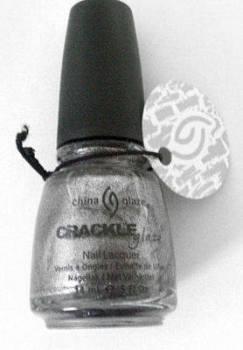 China Glaze Crackle  Nail Polish - Latticed  Lilac