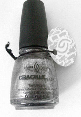 China Glaze Crackle  Nail Polish - Latticed  Lilac