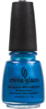 China Glaze Nail Polish - Blue Iguana