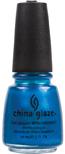China Glaze Nail Polish - Blue Iguana