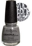 China Glaze Crackle  Nail Polish - Platinum Pieces