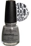 China Glaze Crackle  Nail Polish - Platinum Pieces