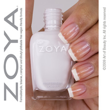 Zoya Nail Polish  - SNOW WHITE  - chemical & odour free