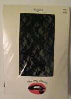 Black Lace Tights - Pop My Cherry