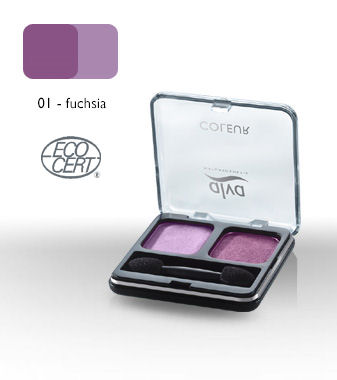 Duo eyeshadow - Fuchsia - 01