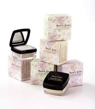 Pearl Silk Powders with Flower Buds & Pearls