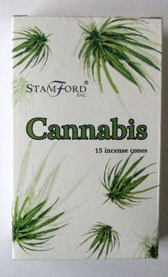 Stamford Incense Cones - Cannabis - (15 Cones)