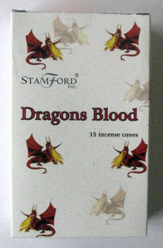 Stamford Incense Cones - Dragons Blood - (15 Cones)