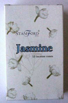Stamford Incense Cones - Jasmine - (15 Cones)