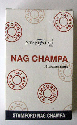 Stamford Incense Cones - Nag Champa - (12 Cones)