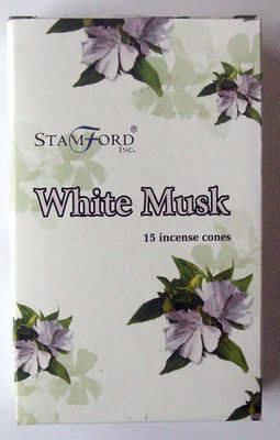 Stamford Incense Cones - White Musk - (15 Cones)