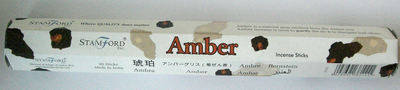 Amber Stamford Incense Sticks - Amber - (8 sticks)