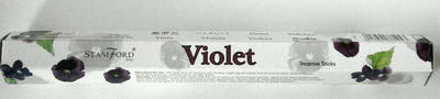 Violet Stamford Incense Sticks- Violet - (20 sticks)