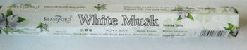 White Musk Stamford Incense Sticks - (20 sticks)