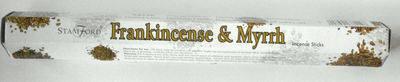 Frankincense & Myrrh Stamford Incense Sticks -  (8sticks)