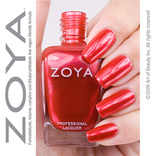 Zoya Nail Polish  Kamilah Red
