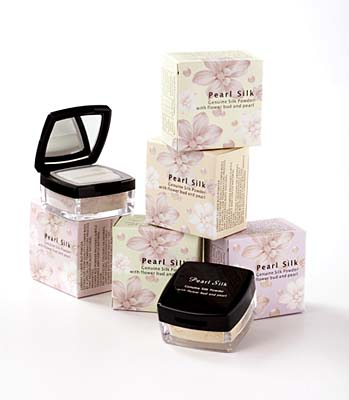 pearl silk powders