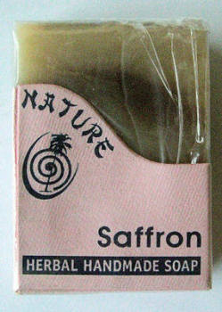 Saffron Herbal Handmade Soap